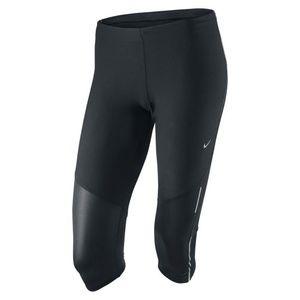 Nike Women's Tech Running Capri Black black/silver